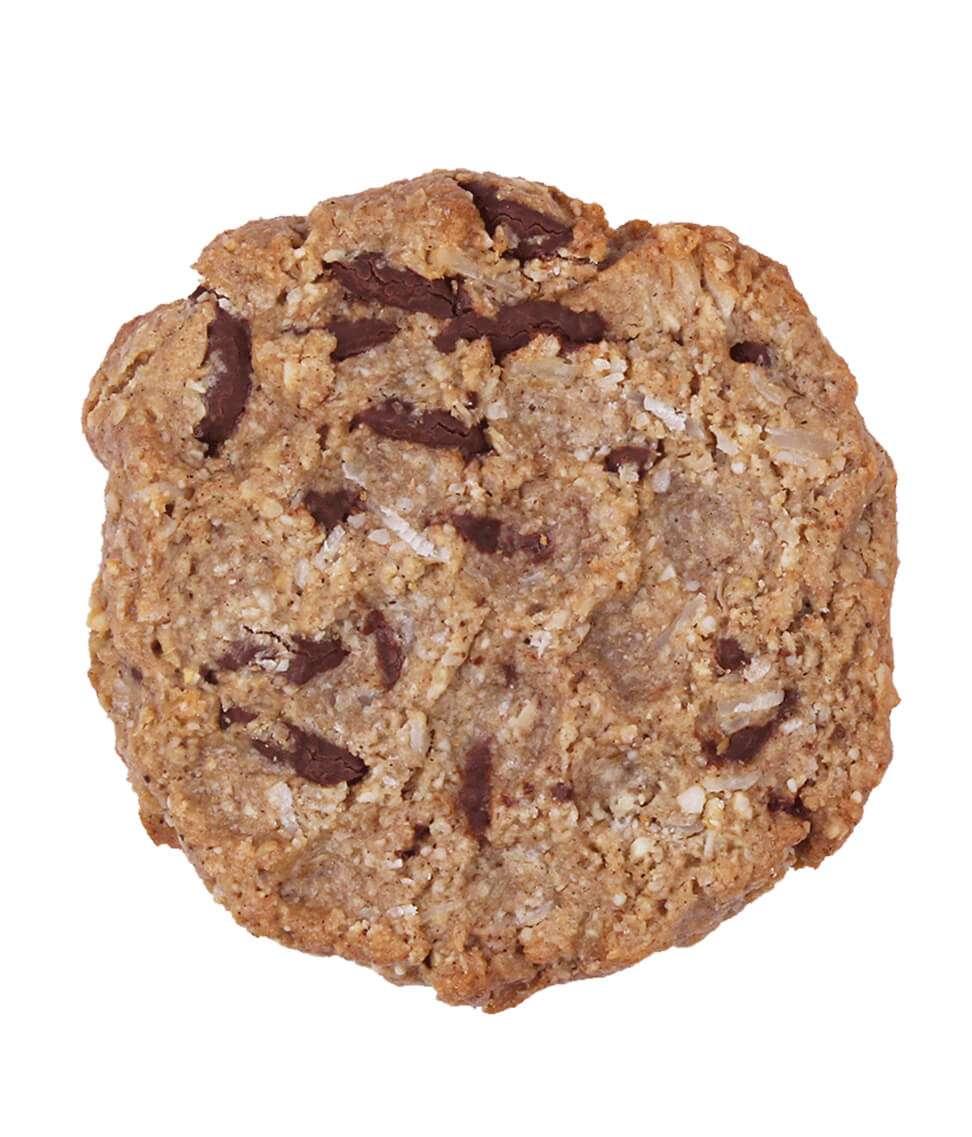 Vanilla and choc chip Cookie