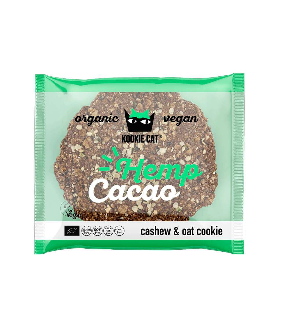 Hemp seeds and Cacao Cookie